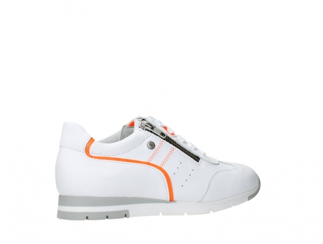 wolky lace up shoes 02526 yell xw 20105 white orange leather_23