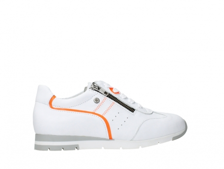 wolky lace up shoes 02526 yell xw 20105 white orange leather_24