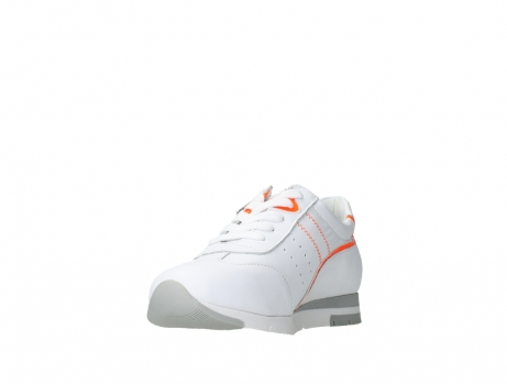 wolky lace up shoes 02526 yell xw 20105 white orange leather_9