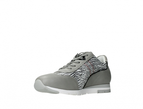 wolky lace up shoes 02526 yell xw 88130 silver leather_10