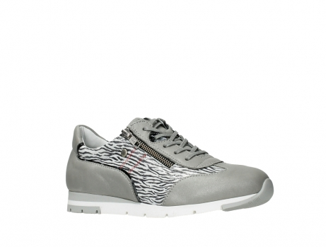 wolky lace up shoes 02526 yell xw 88130 silver leather_3