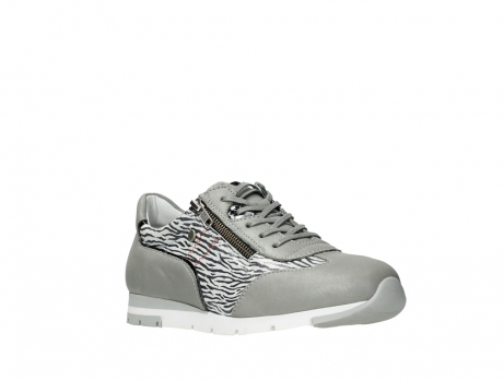 wolky lace up shoes 02526 yell xw 88130 silver leather_4