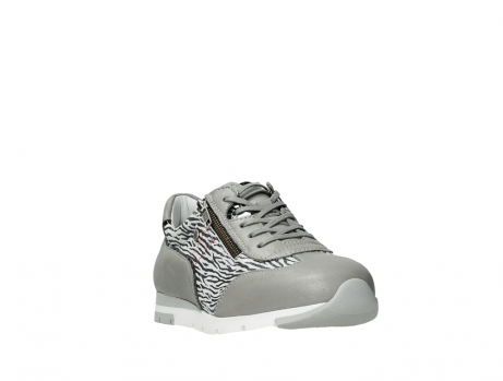 wolky lace up shoes 02526 yell xw 88130 silver leather_5