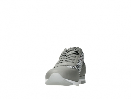 wolky lace up shoes 02526 yell xw 88130 silver leather_8