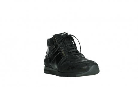 wolky lace up shoes 02527 cheer 36000 shiny black leather_5