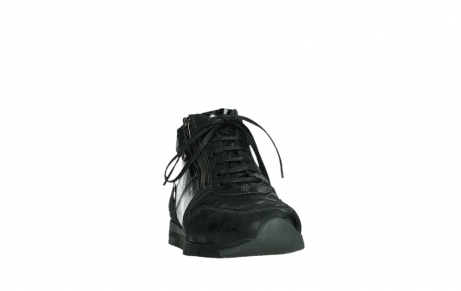 wolky lace up shoes 02527 cheer 36000 shiny black leather_6