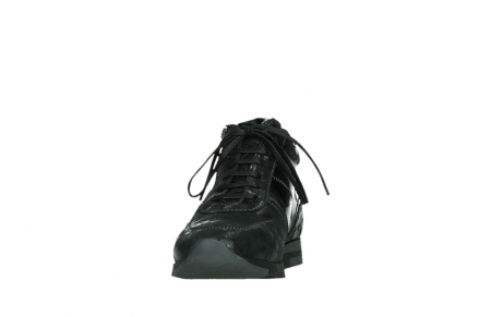 wolky lace up shoes 02527 cheer 36000 shiny black leather_8