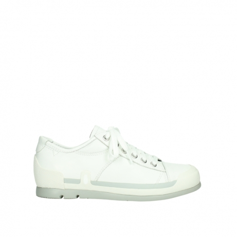 wolky lace up shoes 02778 stowe 30100 white leather