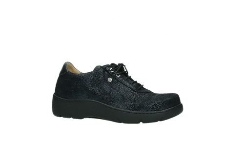 wolky lace up shoes 03250 fantasy 43800 blue metal suede_2