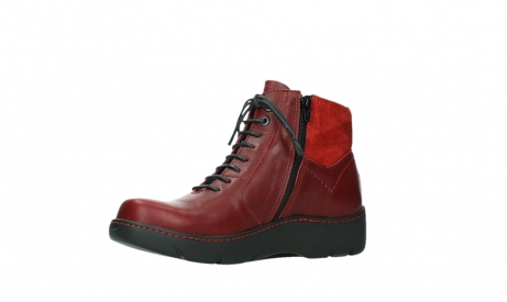 wolky lace up boots 03252 daydream 24505 dark red leather_11
