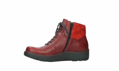 wolky lace up boots 03252 daydream 24505 dark red leather_12