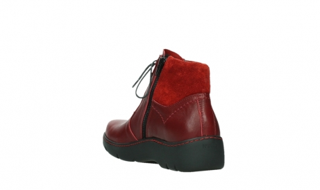 wolky lace up boots 03252 daydream 24505 dark red leather_17