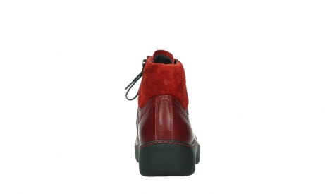 wolky lace up boots 03252 daydream 24505 dark red leather_19