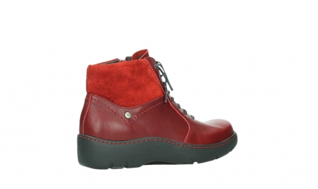 wolky lace up boots 03252 daydream 24505 dark red leather_23