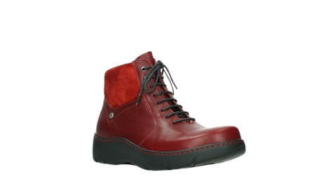 wolky lace up boots 03252 daydream 24505 dark red leather_4