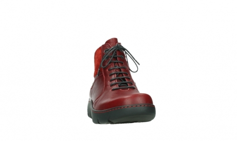 wolky lace up boots 03252 daydream 24505 dark red leather_6