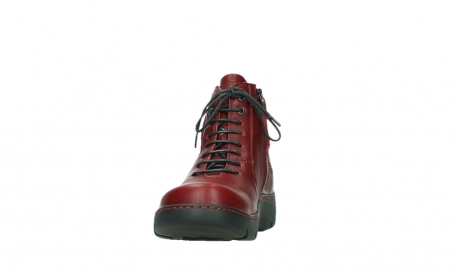 wolky lace up boots 03252 daydream 24505 dark red leather_8