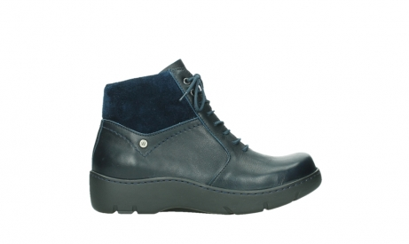 wolky lace up boots 03252 daydream 24800 blue leather_1
