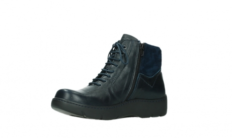 wolky lace up boots 03252 daydream 24800 blue leather_11