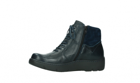 wolky lace up boots 03252 daydream 24800 blue leather_12