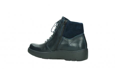 wolky lace up boots 03252 daydream 24800 blue leather_15
