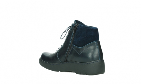 wolky lace up boots 03252 daydream 24800 blue leather_16