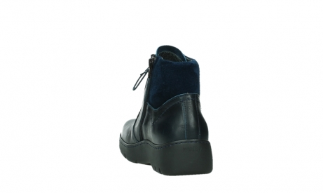 wolky lace up boots 03252 daydream 24800 blue leather_18