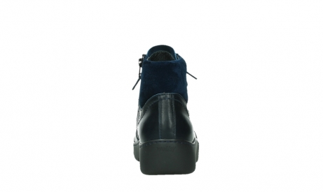 wolky lace up boots 03252 daydream 24800 blue leather_19