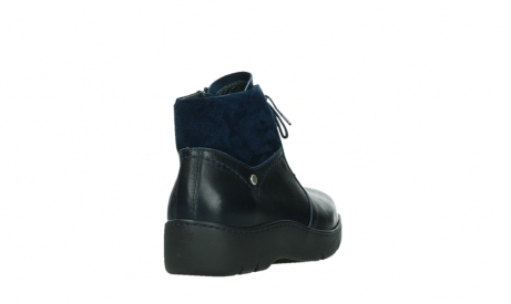 wolky lace up boots 03252 daydream 24800 blue leather_21