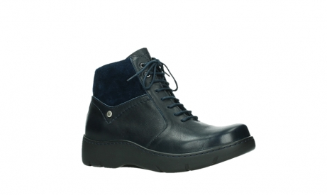 wolky lace up boots 03252 daydream 24800 blue leather_3