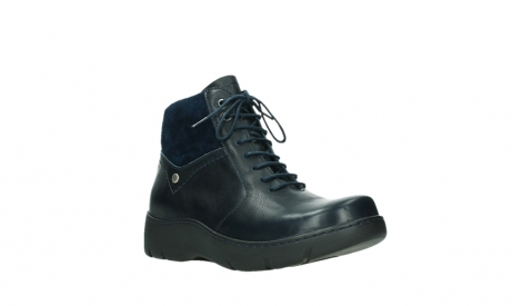 wolky lace up boots 03252 daydream 24800 blue leather_4