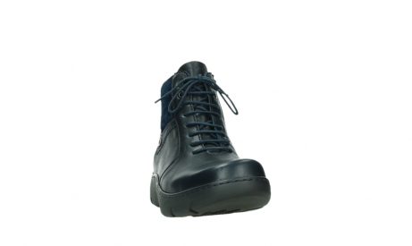 wolky lace up boots 03252 daydream 24800 blue leather_6