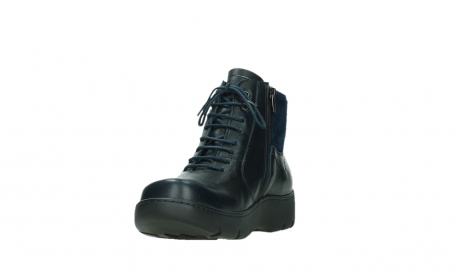 wolky lace up boots 03252 daydream 24800 blue leather_9