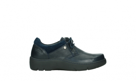 wolky lace up shoes 03253 calypso 24800 blue leather_1