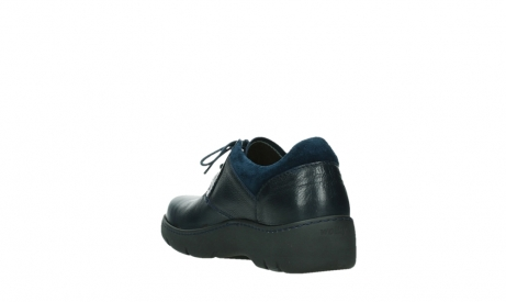 wolky lace up shoes 03253 calypso 24800 blue leather_17