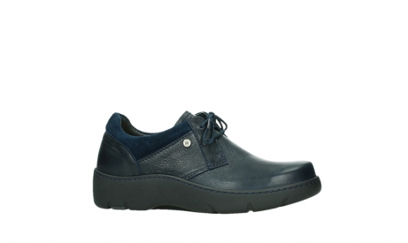 wolky lace up shoes 03253 calypso 24800 blue leather_2