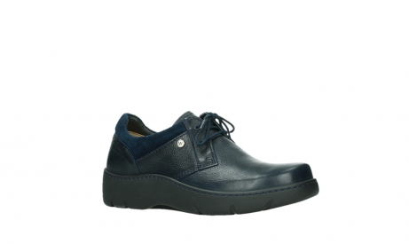 wolky lace up shoes 03253 calypso 24800 blue leather_3
