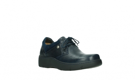 wolky lace up shoes 03253 calypso 24800 blue leather_4