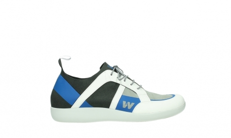 wolky lace up shoes 04075 base 00286 anthracite royal blue microfiber_1