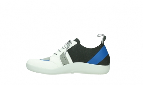 wolky lace up shoes 04075 base 00286 anthracite royal blue microfiber_13