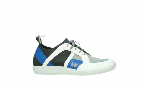 wolky lace up shoes 04075 base 00286 anthracite royal blue microfiber_2