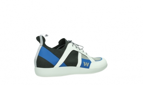 wolky lace up shoes 04075 base 00286 anthracite royal blue microfiber_23