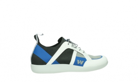 wolky lace up shoes 04075 base 00286 anthracite royal blue microfiber_24