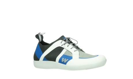 wolky lace up shoes 04075 base 00286 anthracite royal blue microfiber_3