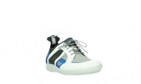 wolky lace up shoes 04075 base 00286 anthracite royal blue microfiber_5