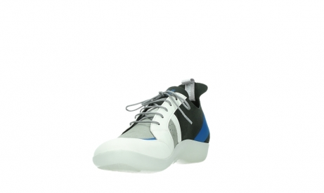 wolky lace up shoes 04075 base 00286 anthracite royal blue microfiber_9