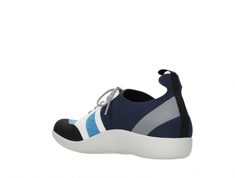 wolky lace up shoes 04075 base 00821 denim white microfiber_16