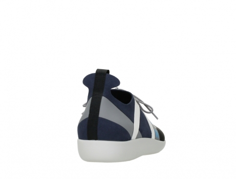 wolky lace up shoes 04075 base 00821 denim white microfiber_20