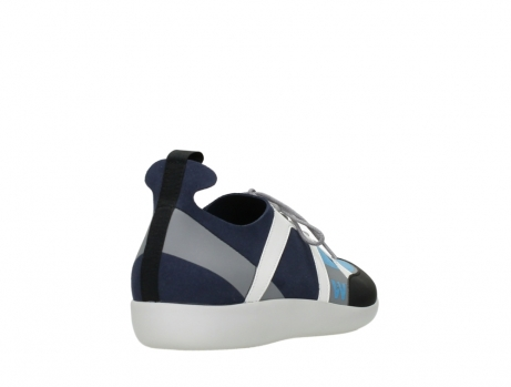 wolky lace up shoes 04075 base 00821 denim white microfiber_21