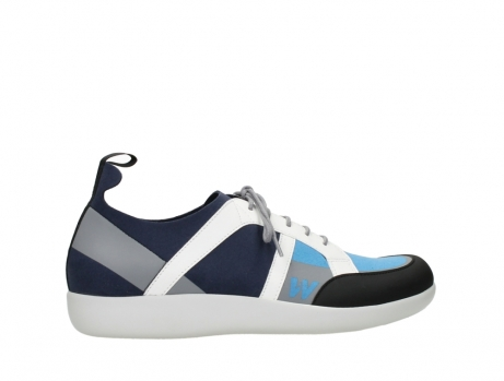 wolky lace up shoes 04075 base 00821 denim white microfiber_24